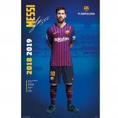F.C. Barcelona Poster Messi 24
