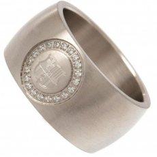 F.C. Barcelona Stone Set Ring Medium