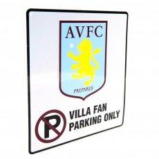 Aston Villa F.C. No Parking Sign