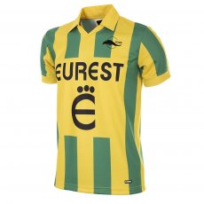 FC Nantes 1994 - 95 Short Sleeve Retro Football Shirt