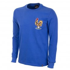 France 1970s Long Sleeve Retro Football Shirt