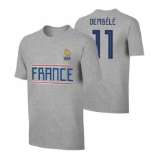 France WC2018 Qualifiers t-shirt DEMBELE, grey