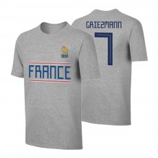 France WC2018 Qualifiers t-shirt GRIEZMANN, grey