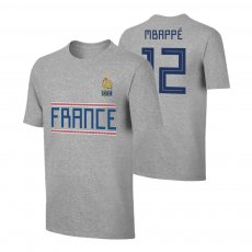 France WC2018 Qualifiers t-shirt MBAPPE, grey