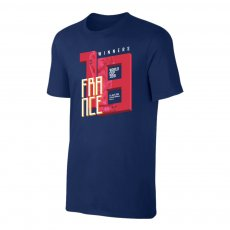 France WC2018 Winners t-shirt, dark blue