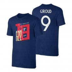 France WC2018 Winners t-shirt GIROUD, dark blue