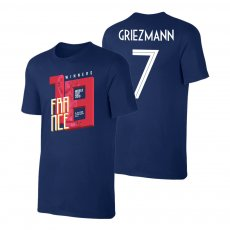 France WC2018 Winners t-shirt GRIEZMANN, dark blue