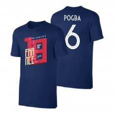 France WC2018 Winners t-shirt POGBA, dark blue