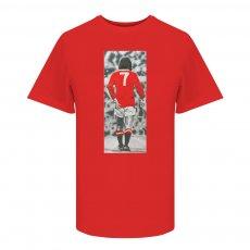 George Best Good,Better,BEST t-shirt, red