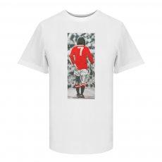 George Best Good,Better,BEST t-shirt, white