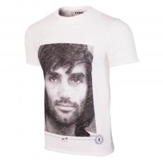 George Best Portrait T-Shirt | White