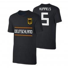 Germany WC2018 Qualifiers t-shirt HUMMELS, black