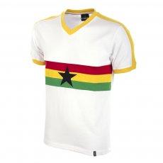 Ghana 1980s Short Sleeve Retro Football Shirt