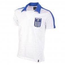 Greece 1988 Short Sleeve Retro Football Shirt