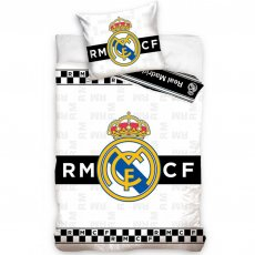 Real Madrid F.C. Single Duvet Set BW