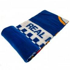 Real Madrid F.C. Fleece Blanket CQ