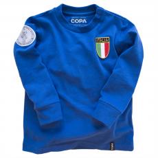 Italy My First Football Shirt Long Sleeve