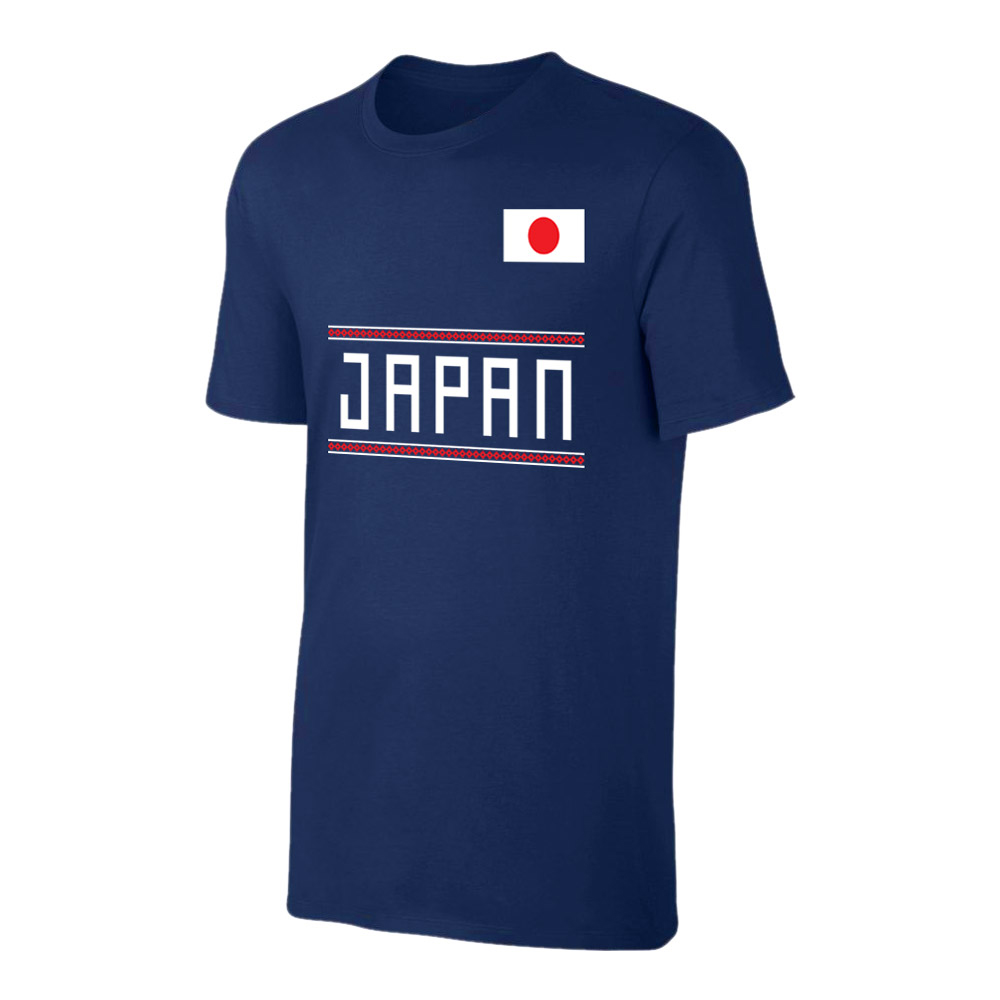 Japan WC2018 Qualifiers t-shirt, dark blue