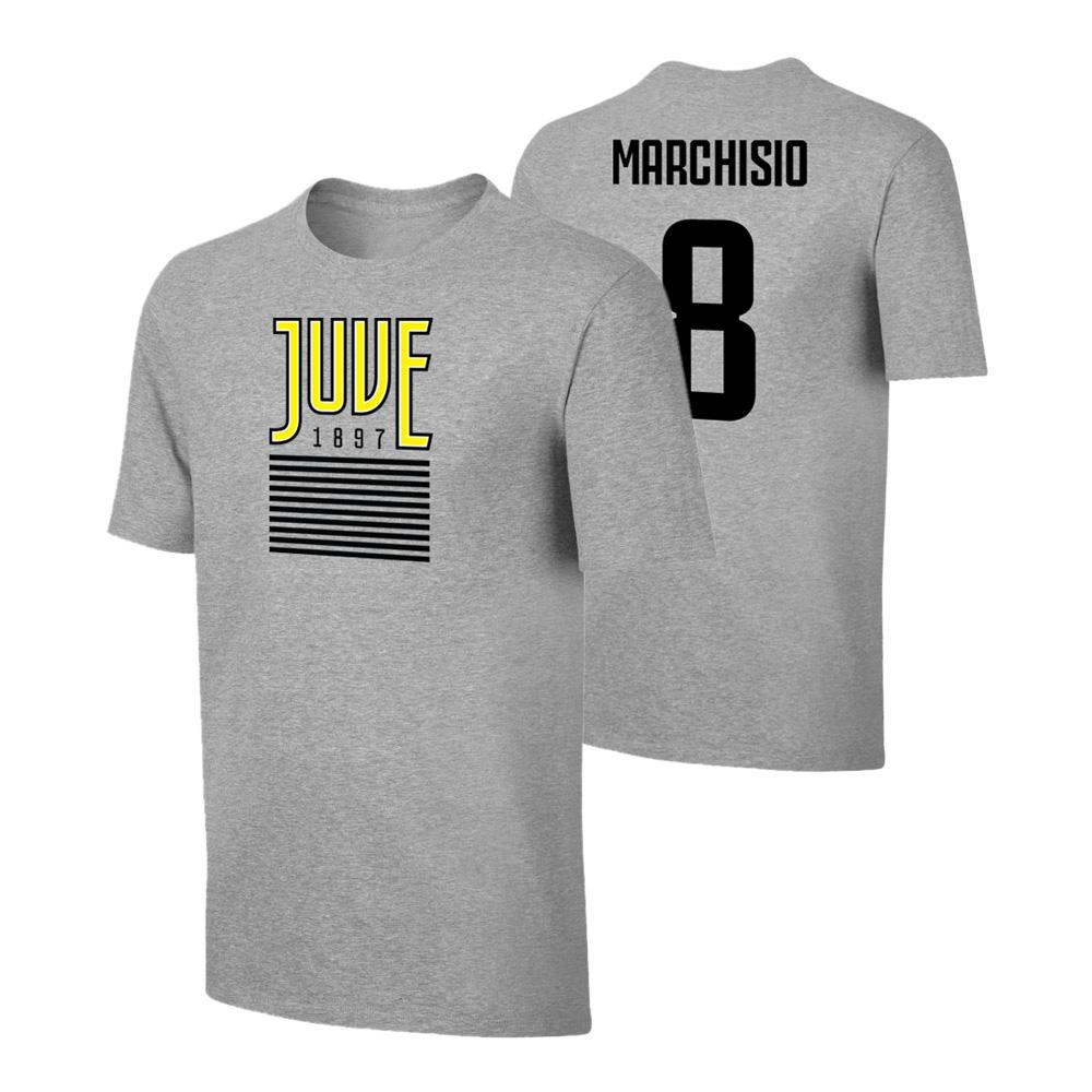 Juventus 1897 t-shirt MARCHISIO, grey