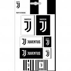 Juventus F.C. Bubble Sticker Set