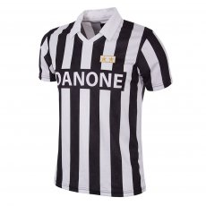 Juventus FC 1992 - 93 Coppa UEFA Short Sleeve Retro Shirt