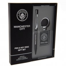 Manchester City F.C. Pen & Keyring Set