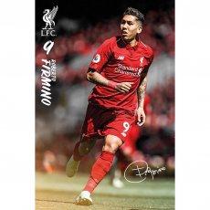 Liverpool F.C. Poster Firmino 8 (61 x 91cm)