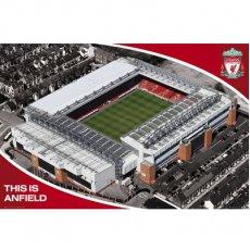 Liverpool F.C. Poster Stadium 13 (61 x 91cm)