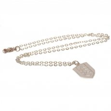 Fulham F.C. Silver Plated Pendant & Chain