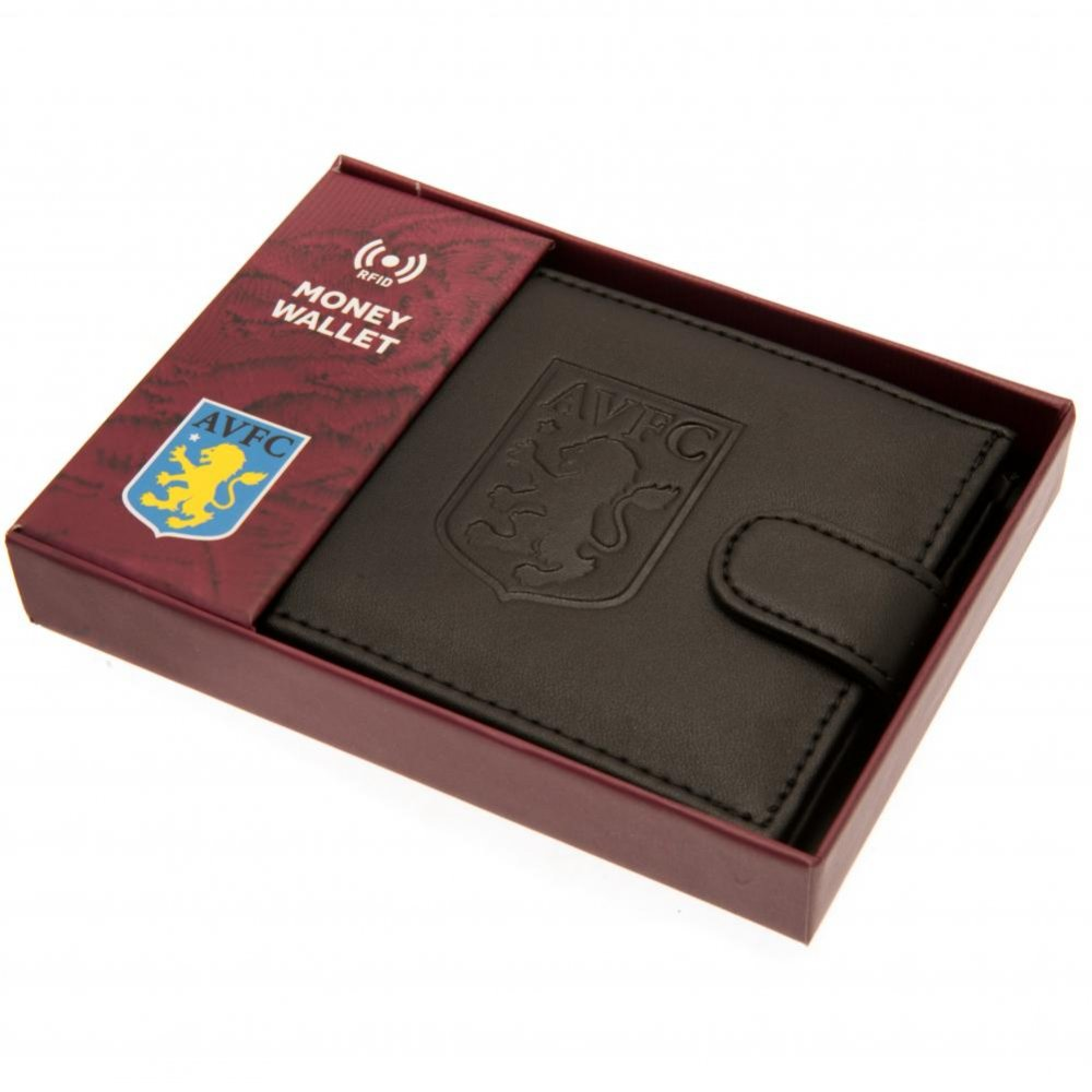 Aston Villa F.C. rfid Anti Fraud Wallet