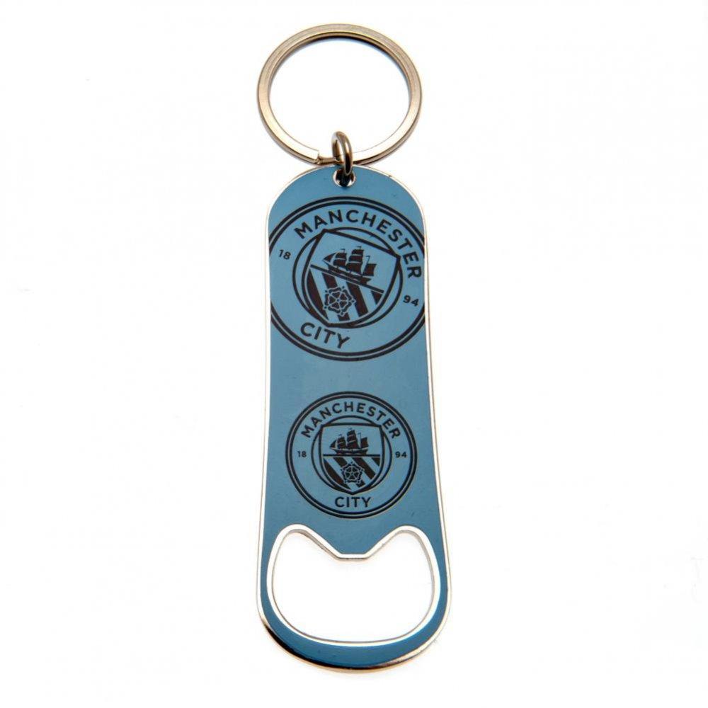 Manchester City F.C. Bottle Opener Keychain
