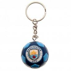 Manchester City F.C. Football Keyring