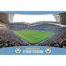 Manchester City F.C. Poster Stadium 7 (61 x 91cm)