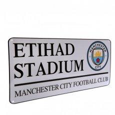 Manchester City F.C. Street Sign