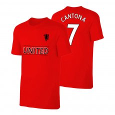 Manchester United Devil t-shirt CANTONA, red