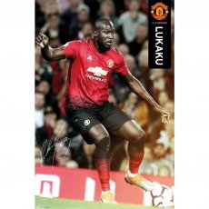 Manchester United F.C. Poster Lukaku 48