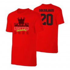Manchester United Trophies t-shirt SOLSKJAER, red