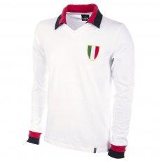 Milan Away 1960s Long Sleeve Retro Football Shirt