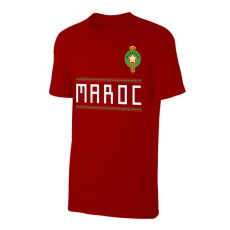 Morocco WC2018 Qualifiers t-shirt, crimson
