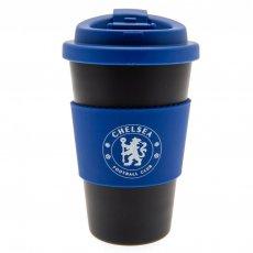 Chelsea F.C. Silicone Grip Travel Mug