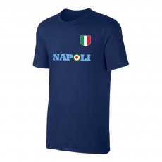 Napoli Target t-shirt, dark blue