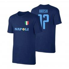 Napoli Target t-shirt HAMSIK, dark blue