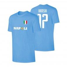 Napoli Target t-shirt HAMSIK, light blue