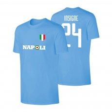 Napoli Target t-shirt INSIGNE, light blue