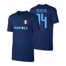 Napoli Target t-shirt MERTENS, dark blue