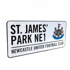 Newcastle United F.C. Street Sign