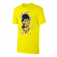 Neymar Jr. Portrait t-shirt, yellow
