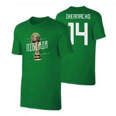 Nigeria WC2018 Qualifiers t-shirt IHEANACHO, green