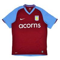 Aston Villa 2008/09 junior home shirt
