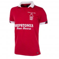 Nottingham Forest 1988 Short Sleeve Retro Shirt